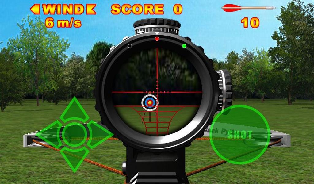 Crossbow Shooting deluxe screenshot 1