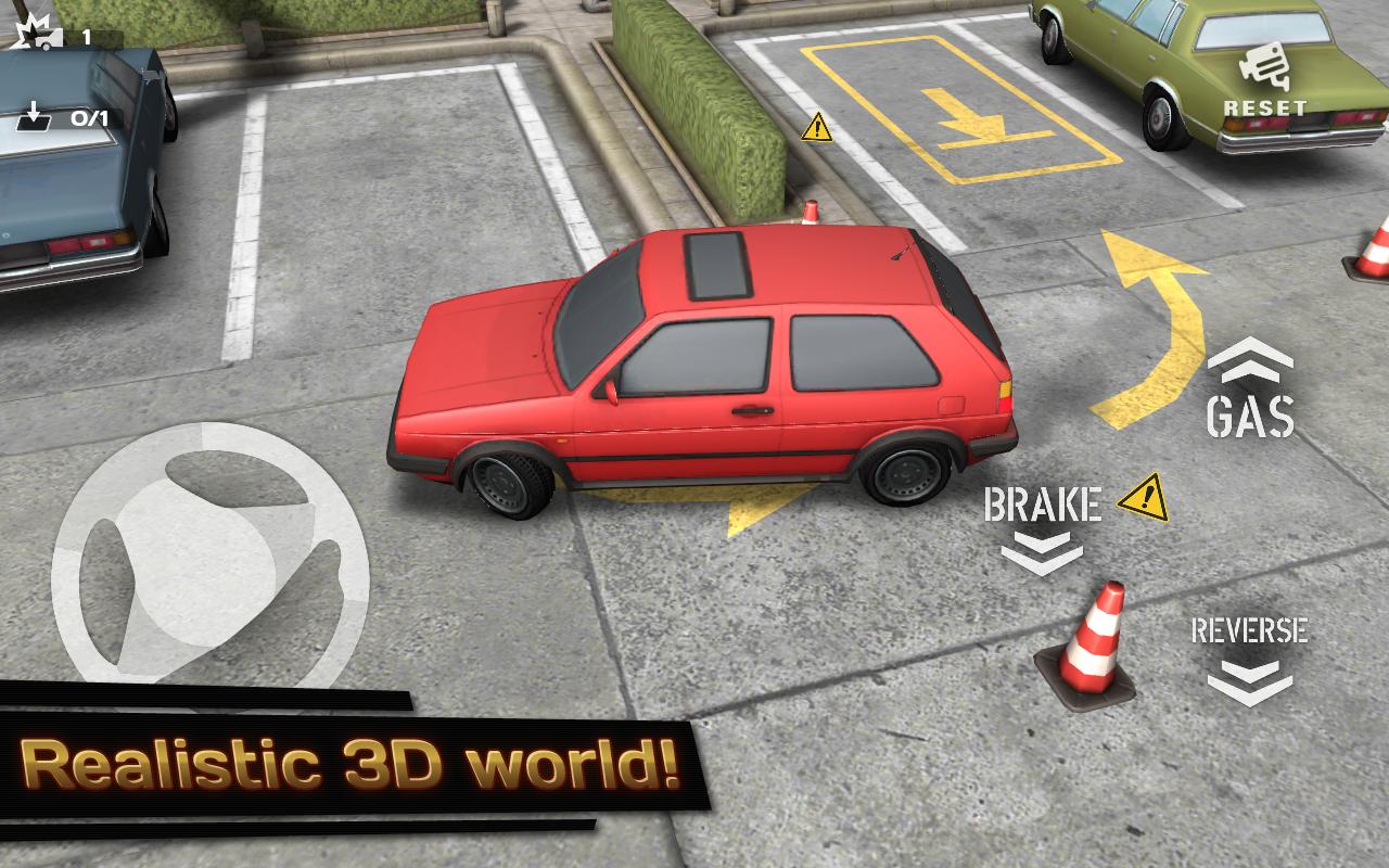 Backyard Parking 3D screenshot 1