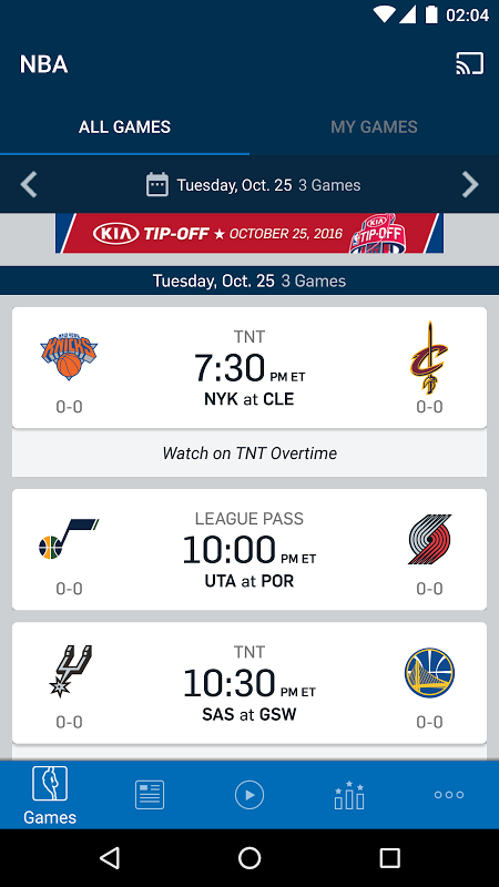 NBA: Official App screenshot 2
