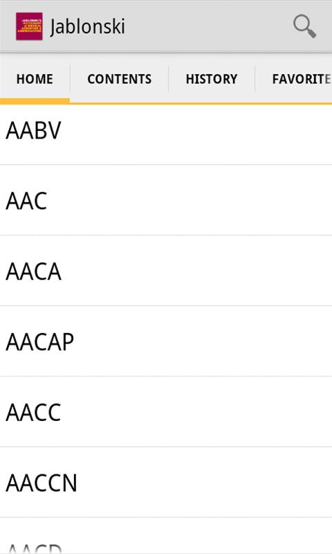 Medical Acronyms Abbreviations screenshot 2