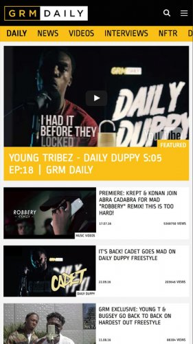 Grm Daily 1 03 Download Android Apk Aptoide Grm daily (stands for grime and rap music), formerly grime daily, is a british urban music outlet and entertainment platform. grm daily 1 03 download android apk