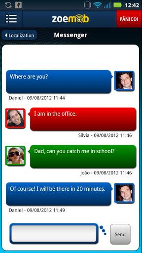 GPS Tracking wechat Screenshot