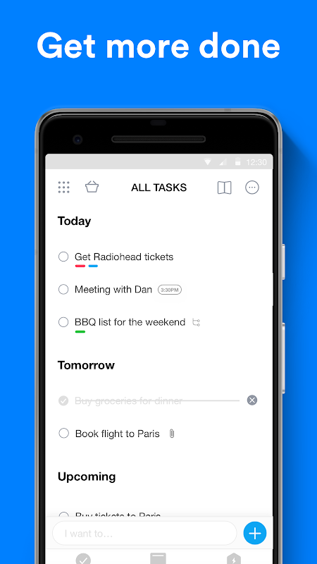 Any.do: To-do list, Calendar, Reminders & Tasks screenshot 1