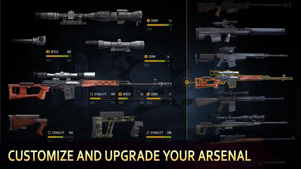 Sniper Arena Jogos de tiro PvP screenshot 2