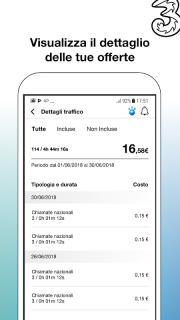 My3 | Area Clienti 3 screenshot 2