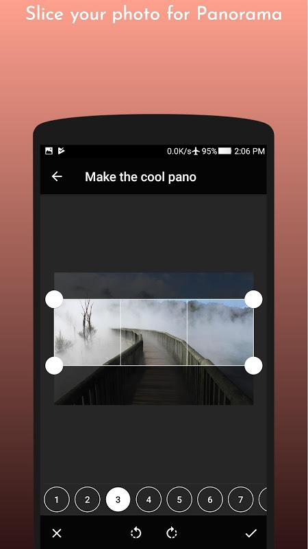 Coolgram - Instagram panorama, grid and square screenshot 2