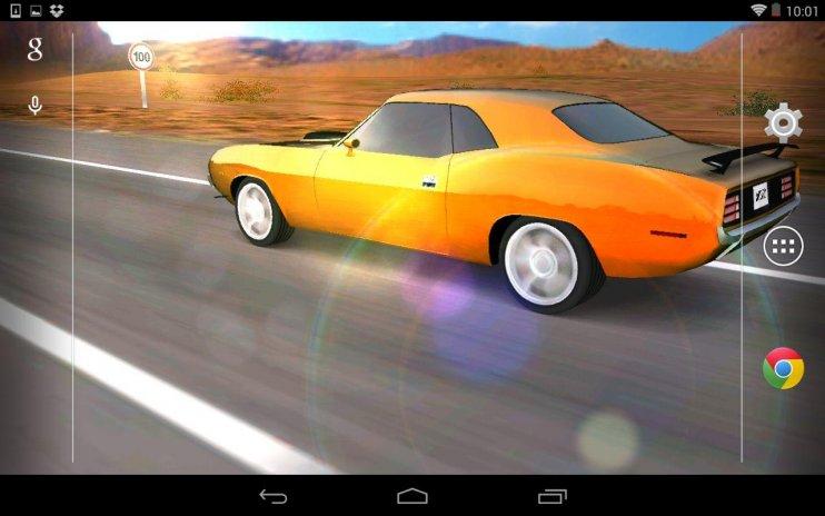 3d Car Live Wallpaper Screenshot 3