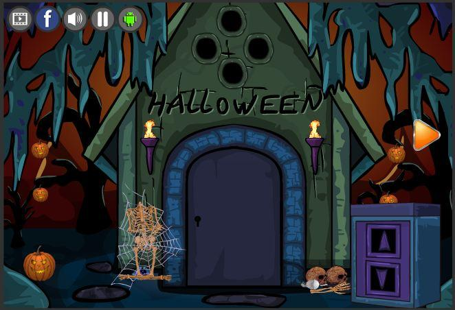 new escape games 187 halloween party 2017 screenshot 8