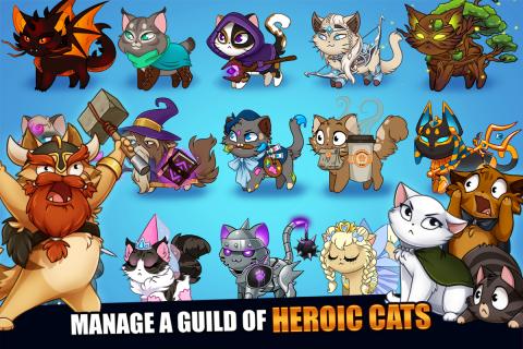Castle Cats: Epic Story Quests screenshot 12