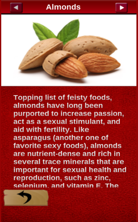 Healthy sexual foods