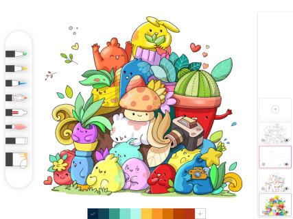 Drawing Desk: Draw,Paint,Color,Doodle & Sketch Pad screenshot 10