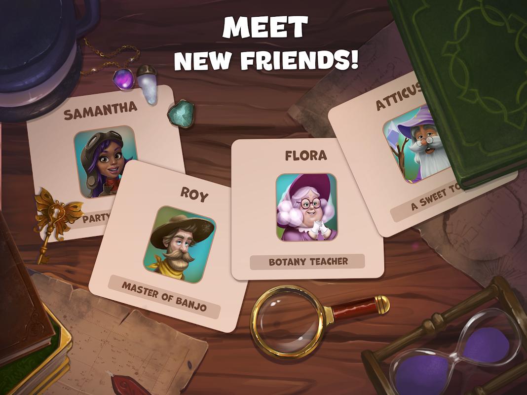 Butterfly Garden Mystery: Scapes Match 3 Story screenshot 1