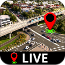 mappa stradale:panorama stradale globale, satelli-