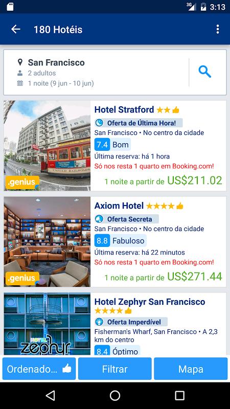 Booking.com Reservas de hotéis screenshot 2