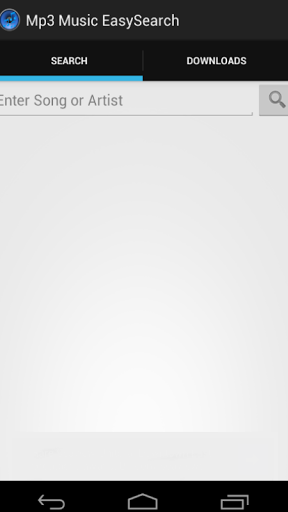 EasySearch Music Download Screenshot