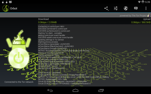 Orbot: Tor on Android screenshot 7