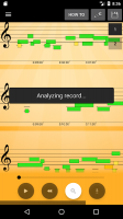 Note Recognition - Convert Music into Sheet Music Screen