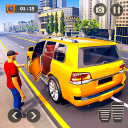 Real City Taxi Driving: New Car Games 2020