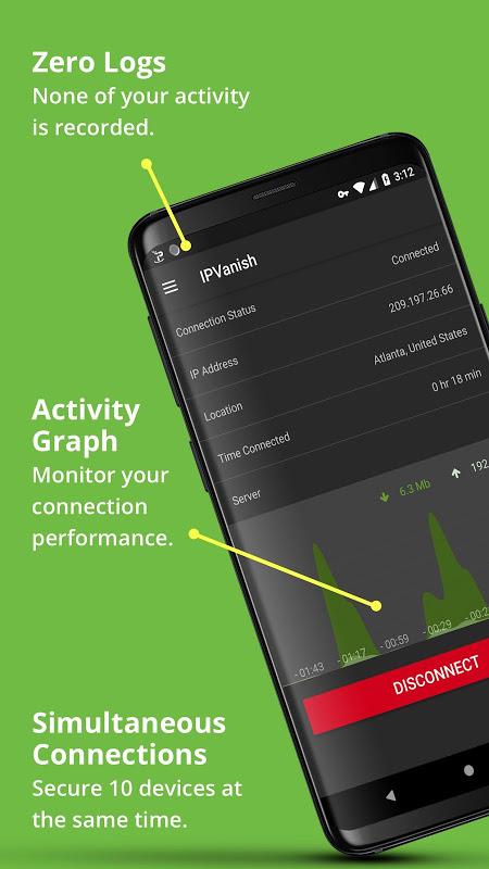 IPVanish VPN: The Fastest VPN screenshot 5