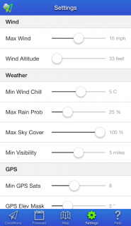 UAV Forecast for DJI Quadcopter & UAV Drone Pilots screenshot 4