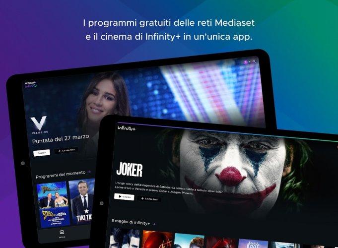Mediaset Infinity TV screenshot 8