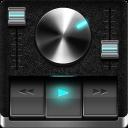 Retro Black skin for Poweramp V3