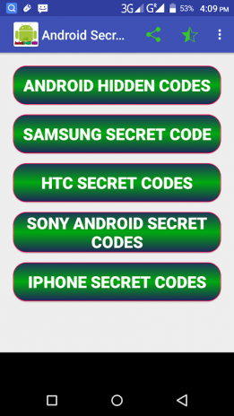 Android Secret Codes all mobil phone 1 0 Download APK for