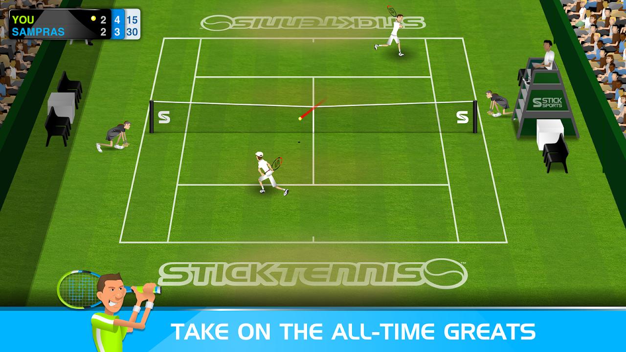 Stick Tennis screenshot 2