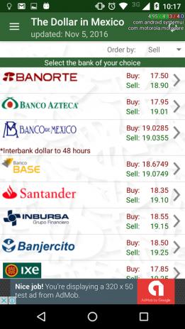 El Dolar En Mexico Captura De Pantalla 2