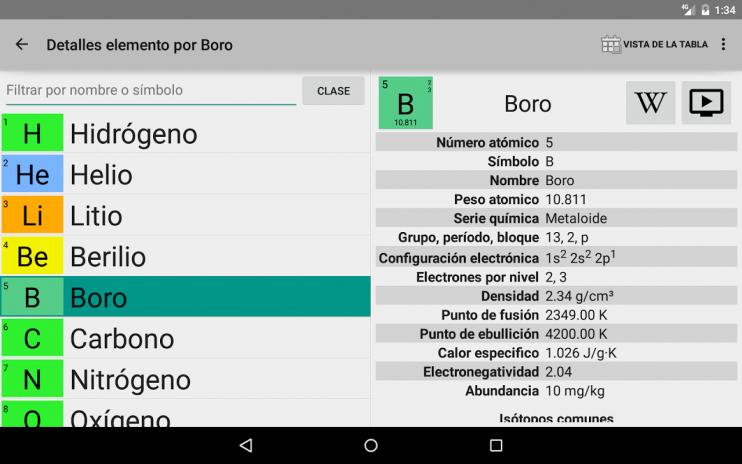 Elementary tabla peridica 084 descargar apk para android aptoide elementary tabla periodica captura de pantalla 22 urtaz Gallery