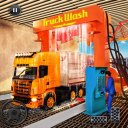 Car wash auto workshop garage truck simulator