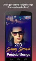 200 Gippy Grewal Punjabi Songs Screen