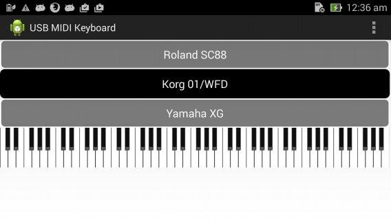 USB Midi Keyboard 1 17 APK دانلود برای اندروید - Aptoide