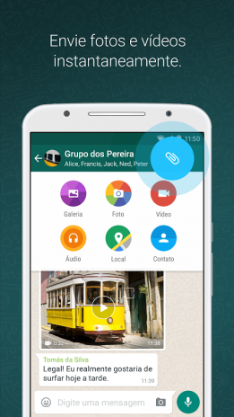 Whatsapp messenger 218292 baixar apk para android aptoide whatsapp messenger captura de tela 5 stopboris Images