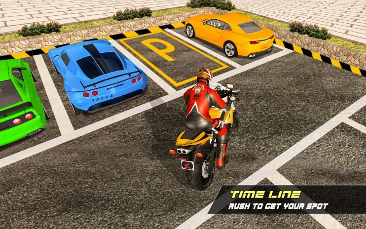 motorcycle riding bike park bike parking games 1 0 download apk for
