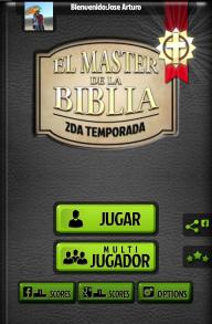 El Master de la Biblia Trivia screenshot 6