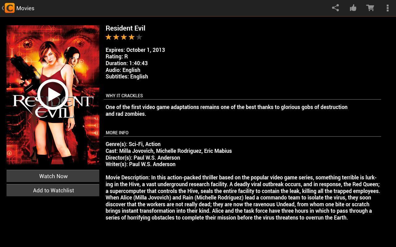 Crackle - Filmes Grátis 7 2 4 1 Download APK para Android