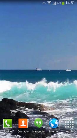 Ocean Waves Live Wallpaper Hd 14 Screenshot 7