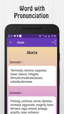 Synonym Antonym Learner 1 2 9 Download APK for Android - Aptoide