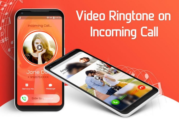 Video Ringtone for Incoming Call: Video Caller ID 1 1
