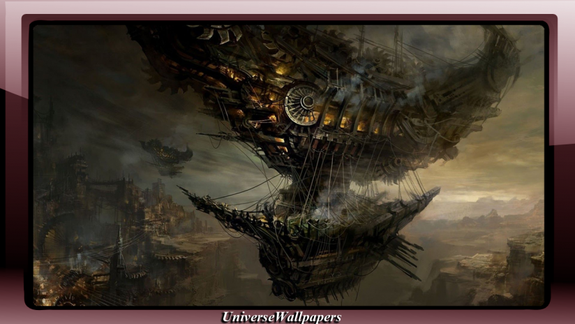 steampunk wallpaper android
