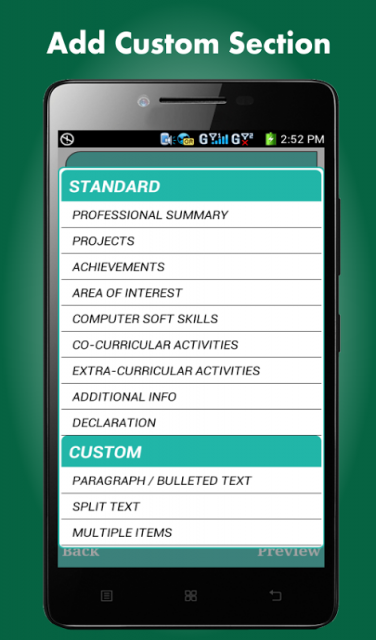 smart resume builder cv free apk for android
