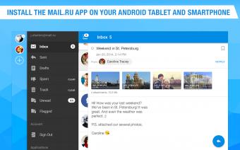 Mail.Ru - Email App Screenshot