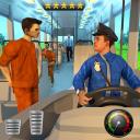 Jail Prisoner Transport Police Bus Drive