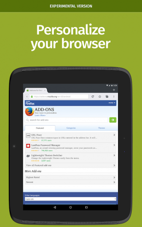 Firefox Nightly for Developers 68 1a1 Download APK for Android - Aptoide