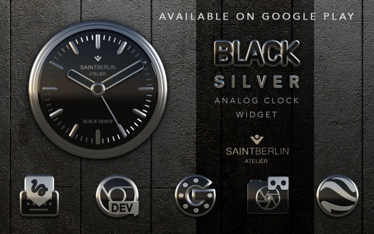 Black Silver Icon Pack 3D 1 1 Download APK for Android - Aptoide