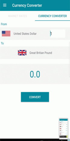 Worldwide Currency Converter Live Market Rates Screenshot 3