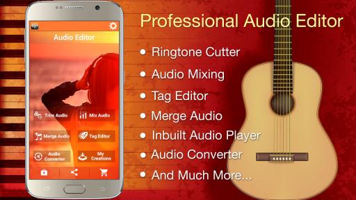 Audio MP3 Cutter Mix Converter screenshot 7