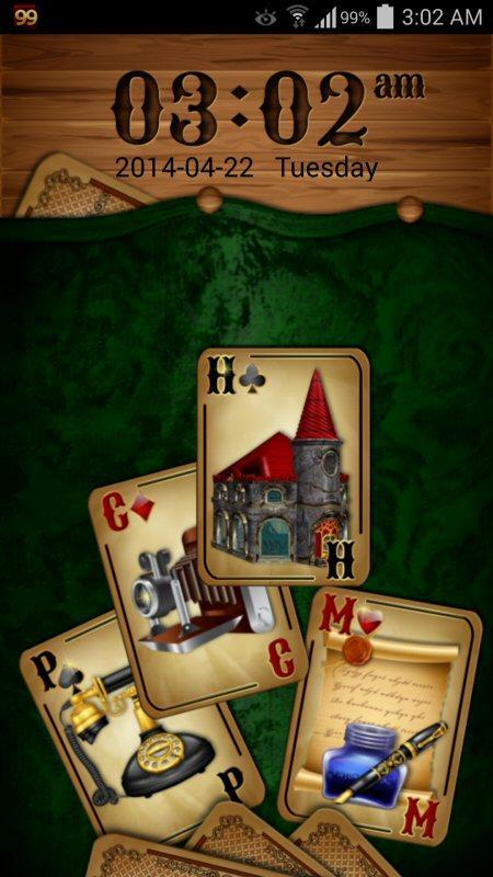 GO Locker Theme: Cards screenshot 1