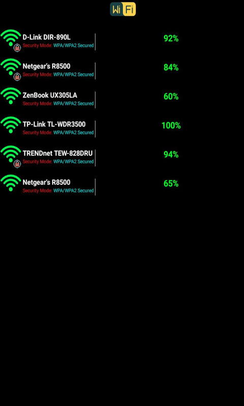 كشف كلمة سر الواي فاي Simulator screenshot 2